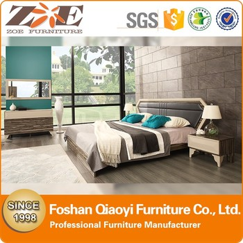 Wooden Beds Bedroom Furniture Modernbed Room Furniture Solid Wood