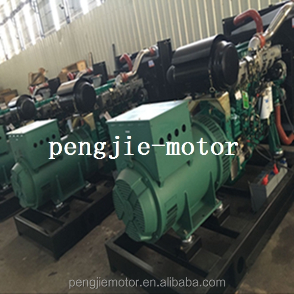 Open frame 600kw diesel parallel operation generator with ATS