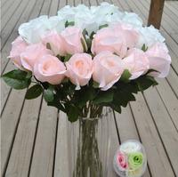 Wholesale silk flower artificial ribbon flowers for sale