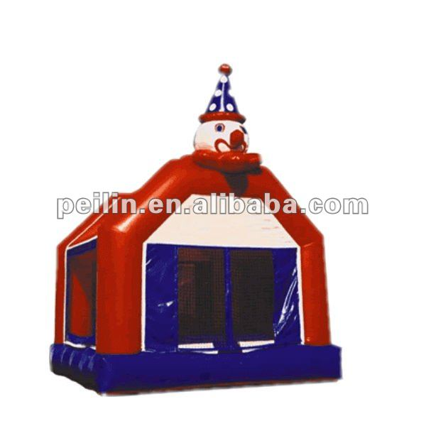 clown inflatable jumping bounce