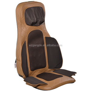 Latest neck and back shiatsu infrared vibrating massage cushion