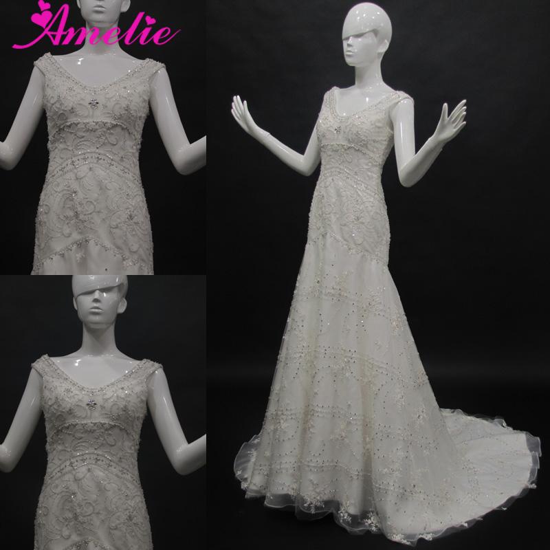 Rhinestone Beaded Sequin Wedding Dresses, Rhinestone Beaded Sequin ...