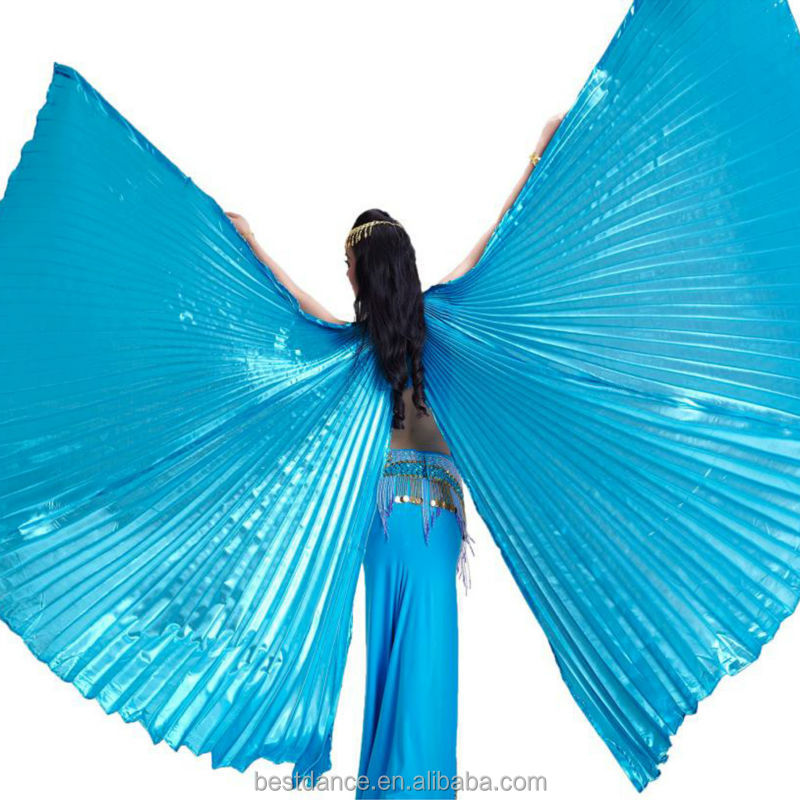 BestDance new egypt belly dance costume isis wings for women open on the back wings with no sticks OEM