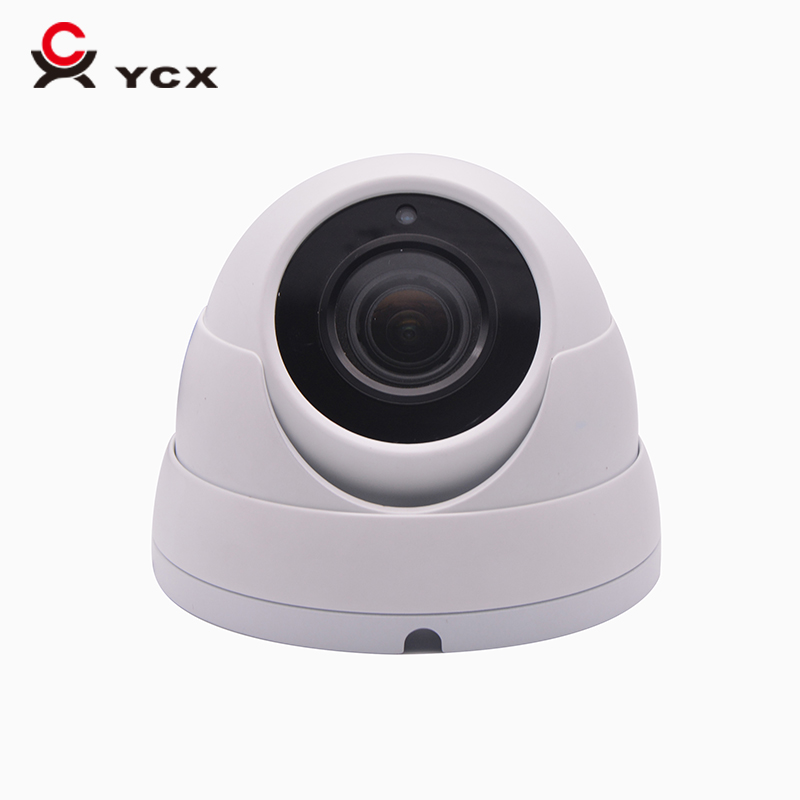 competitive brand H.265 5mp onvif ip camera metal dome 2.8mm lens audio night vision