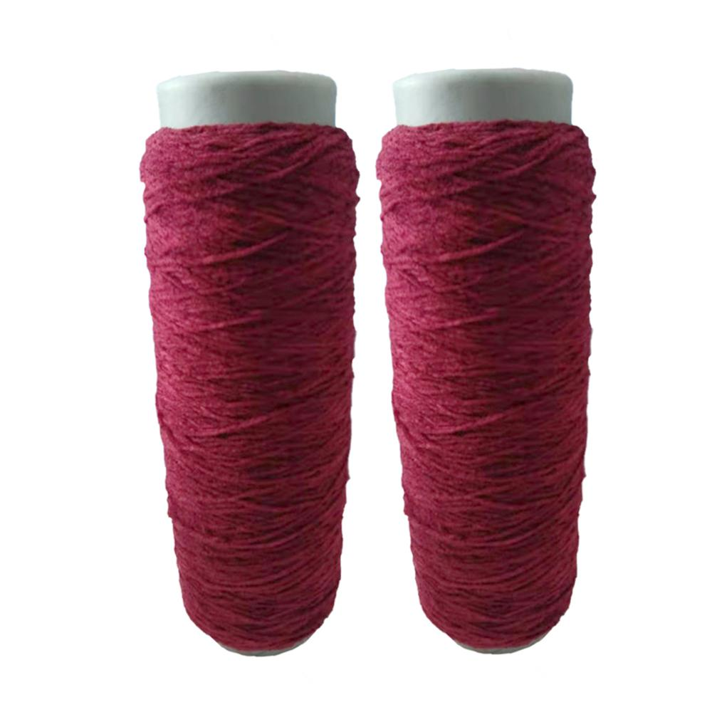 Charmkey fashion colour 100% polyester cone yarn for weaving cloths