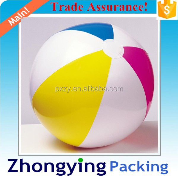 Big Size plastic inflatable ball for beach play