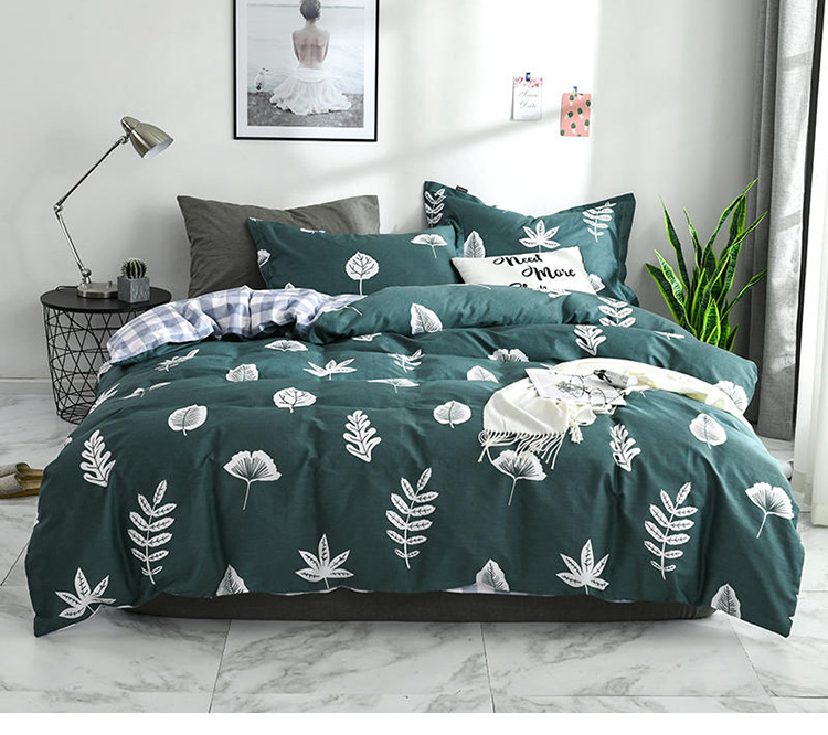 High quality custom printing imported 100% cotton bed linen for sale cheap