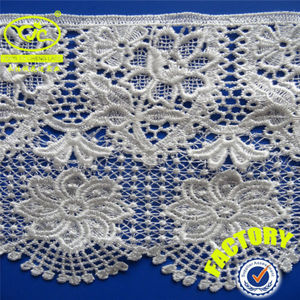 Chinese brand YJC chemical new design embroidery lace for sale