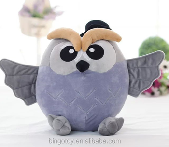 Cute Owl Plush Toy Soft Stuffed Animal Plush Toy