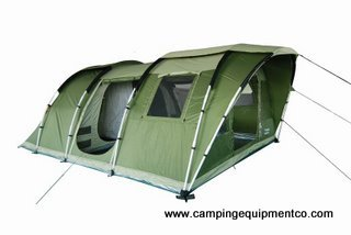 Gobi 6 Person Family Camping Tent Large Rooms NEW