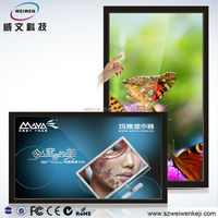 Easy operation and beautiful ! 32 inch digital signage display replacement lcd tv screen