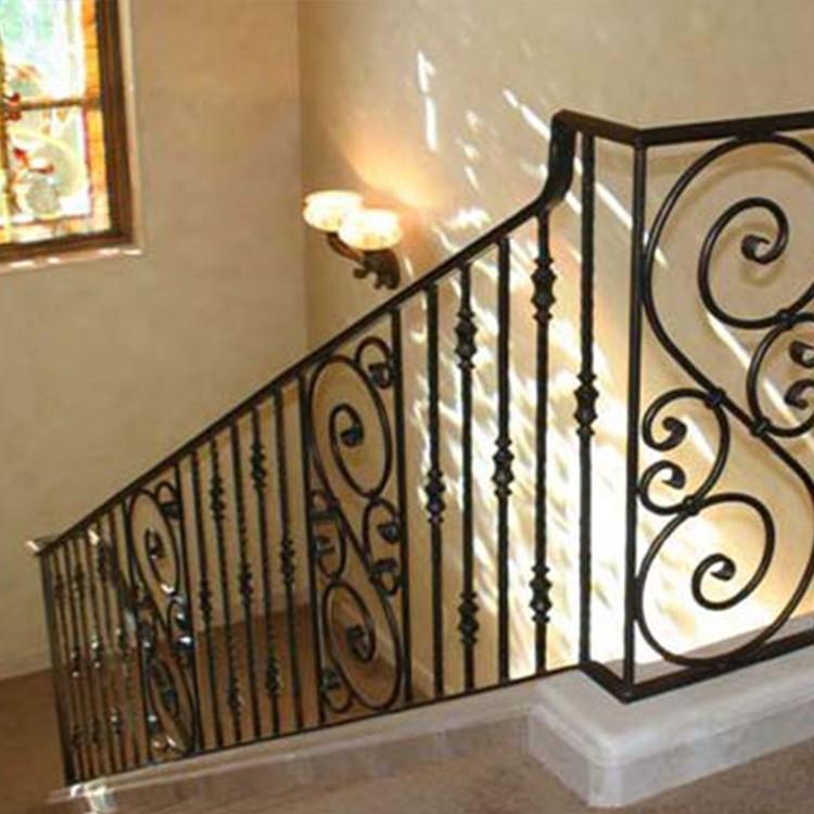 Wrought Iron Stair Railing Panels