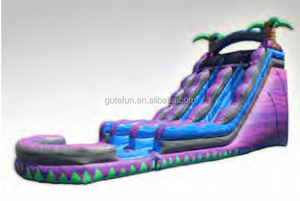 PVC jumping castles cheap kids giant water slide inflatable for sale