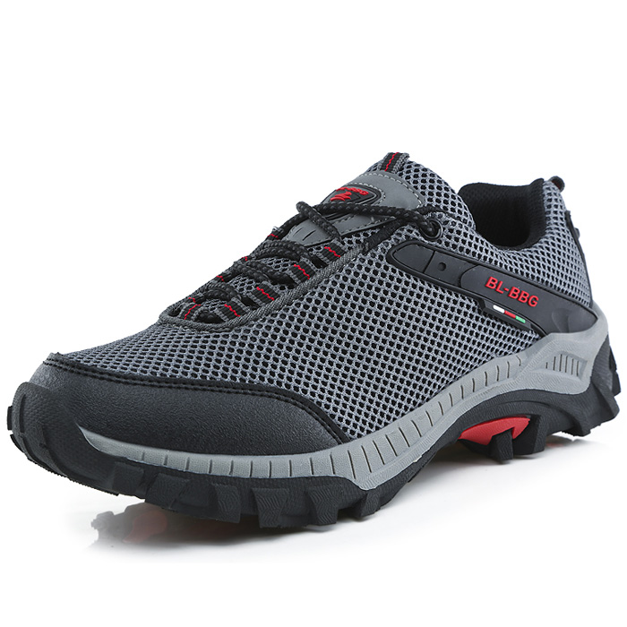 Men spring summer breathable hiking shoes men walking shoes brand sneakers anti-slip wear-resistant outdoor cross-country shoes