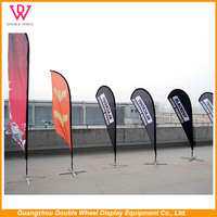 Outdoor Banner Stands Displays Flag Pole, Decorative Wall Mount Banner