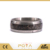 POYA Jewelry 8mm Damascus Steel And Deer Antler Center Inlay Mens Wedding Band Rings