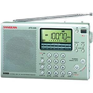 "Sangean 16-Band Digital Am/Fm Stereo Short-Wave Receiver ""Product Category: Radios & Cassette Players/Radio/Cassette Players"""