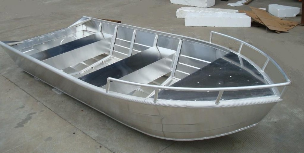 Cheap new small aluminum bass fishing boat for sale with for Fishing boat cost