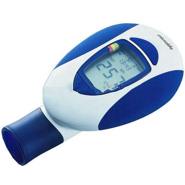 Microlife Électronique Débitmètre PF100 pour spiromètre avec L'EEP et FEV1, approbation de la CE