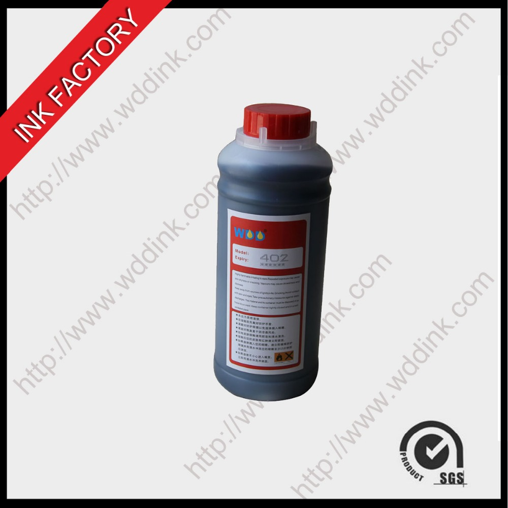 solvent for red ink , CIJ willerr printer consumables 402