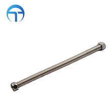 stainless steel hot water flexible metal hose/pipe/tube Bathroom Kitchen Drain Sink Pipe