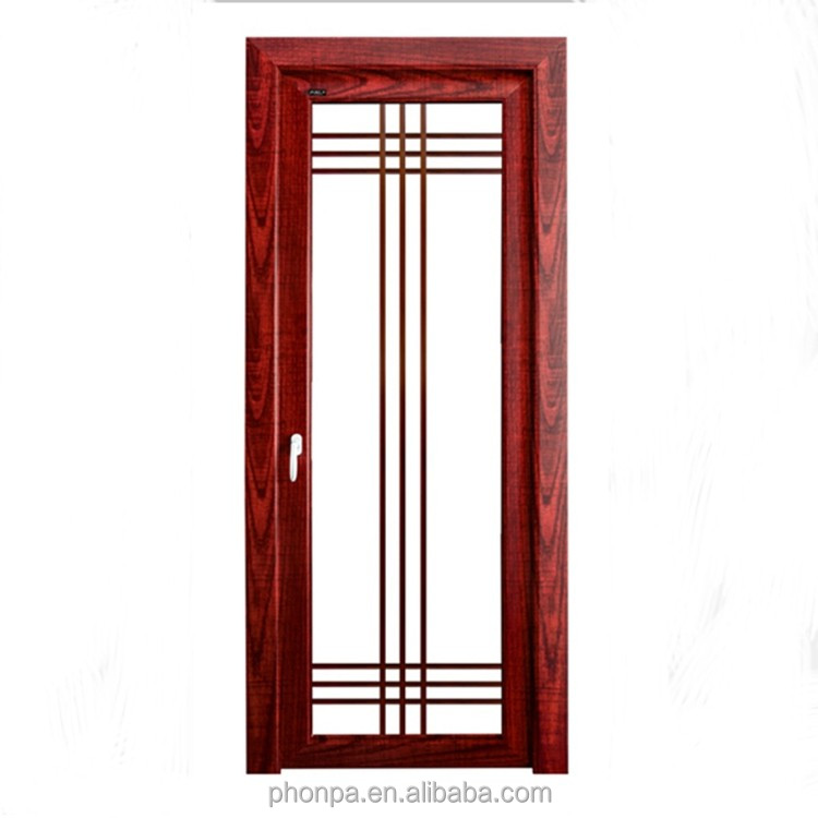 Insulated glass aluminum door