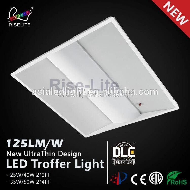 surface mounted led troffer,led fixture t8,grids protection for fluorescent