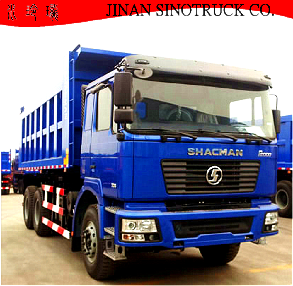 SHACMAN F2000 6X4 Dump <strong>Truck</strong> For Export Saudi Arabia