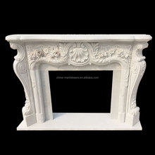 Decoration marble carving gel ethanol fireplace
