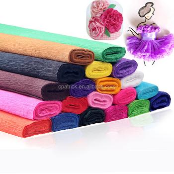 Colorful Diy Bunga Kertas Krep Kertas Krep Untuk Menghias Dan Partai ... 2812164b01