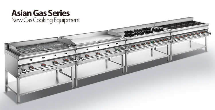 1200 Commercial Asian Gas Restaurant Teppanyaki Griddle With Stand FAGDC-1207S