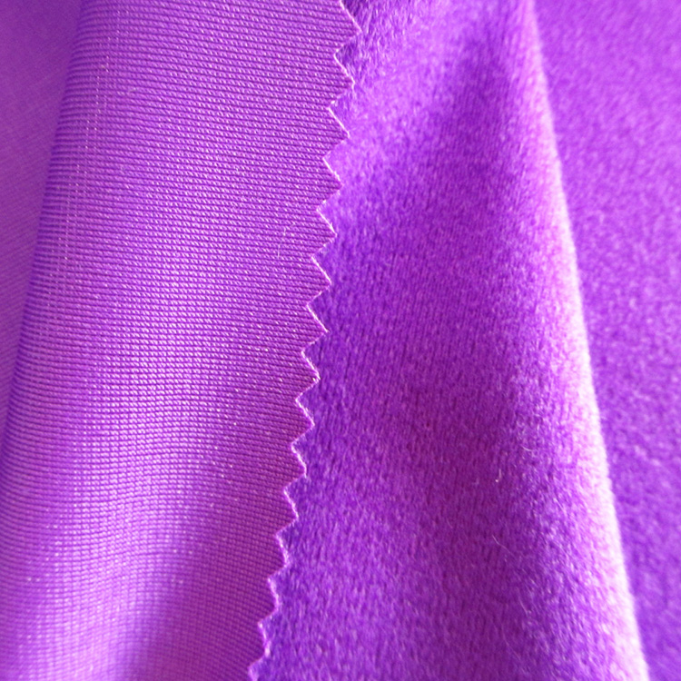 Eco-friendly Polyester Dyed Brushed Knit Velvet Fabric Export Orders For  Garments  - Buy Dyed Brushed Fabric,Dyed Knit Fabric,Dyed Velvet Product on
