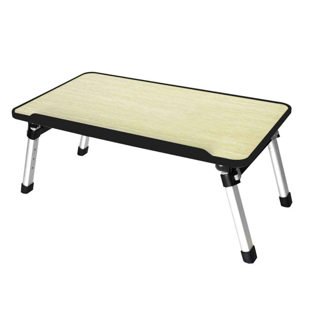 GAOYANG Laptop Bed Tray Table, Adjustable Laptop Bed Stand, Portable Standing Table with Foldable Legs, Foldable Lap Tablet Table for Sofa Couch Floor (Color : B)