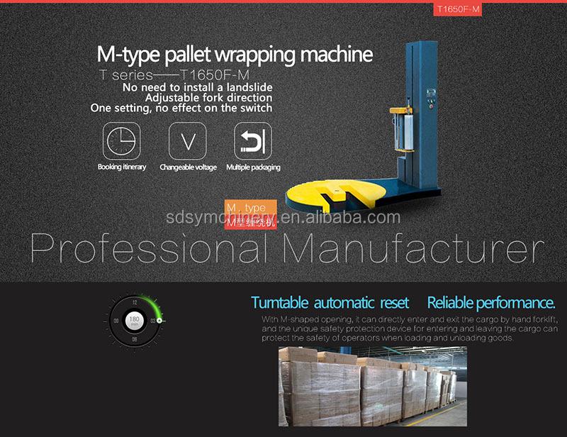 Hoge Kwaliteit Pallet Stretch Wrapping Machine/Film Wikkelen Apparatuur