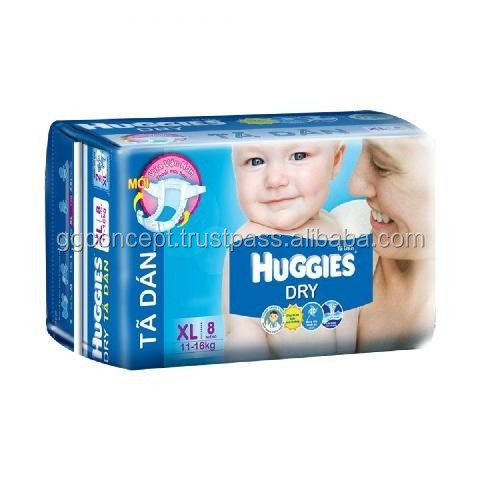 Huggies dry small (XL 8)/Diaper Dry/Diaper Pant/ Nappy