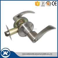 Zinc alloy Tubular Lever Door Handle Lock