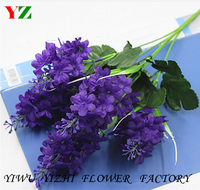 wholesale cheap price high quality artificial flower bouquet hyacinth bouquet decorate for home centerpiece