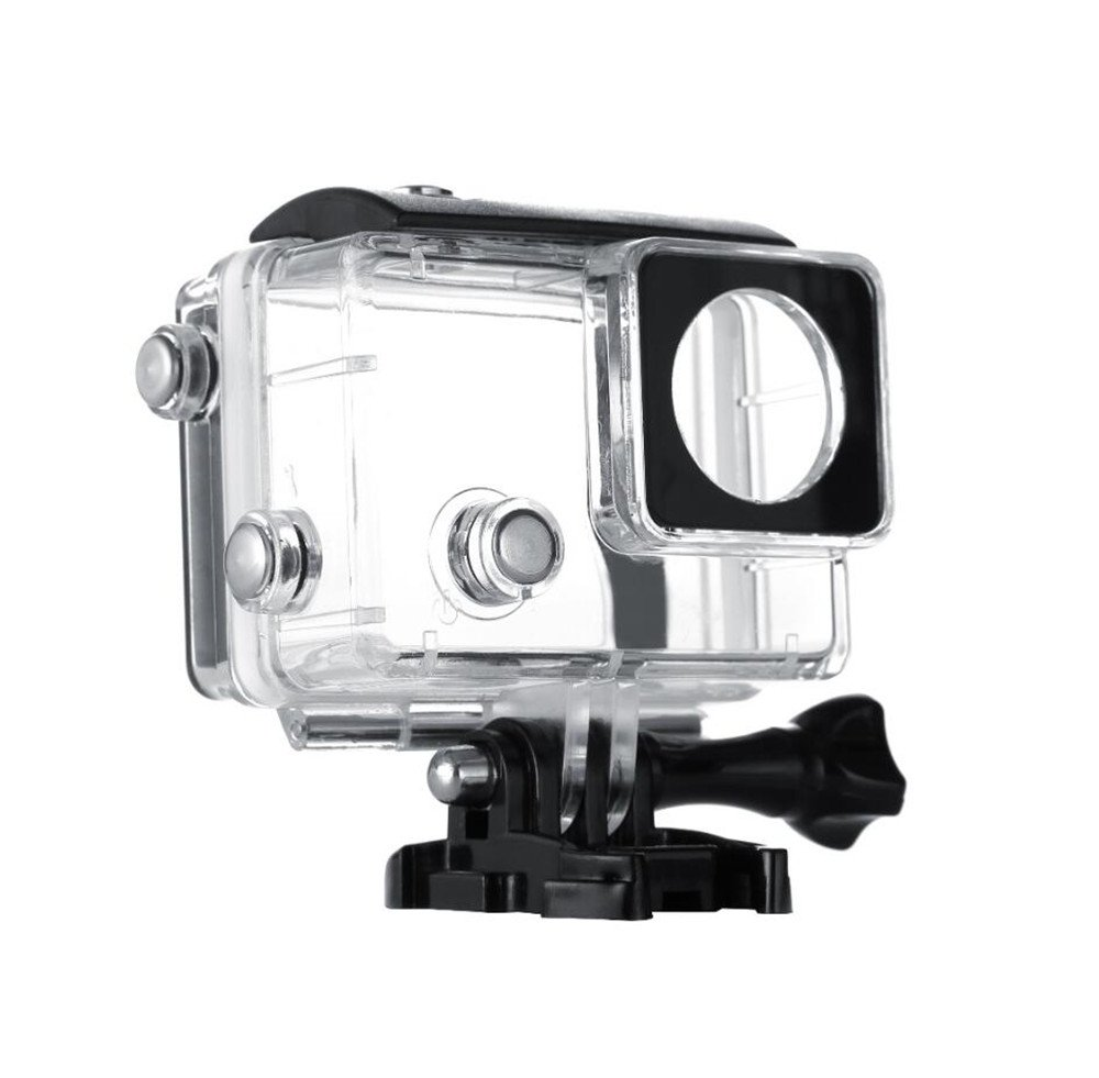 Vicdozia Expansion Size Waterproof Housing Case Protective Cover with Extended Back Door for Gopro Hero 4 3+ LCD Screen BacPac Expansion Battery Pack
