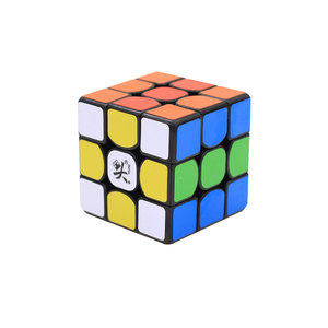 DaYan XiangYun 3X3X3 Speed Twist Puzzle Brain Teaser Black Educational Toy Magic Cube for Kids and Adult