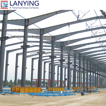 Steel Frame Structure Construction Factory Building - Buy Steel ...