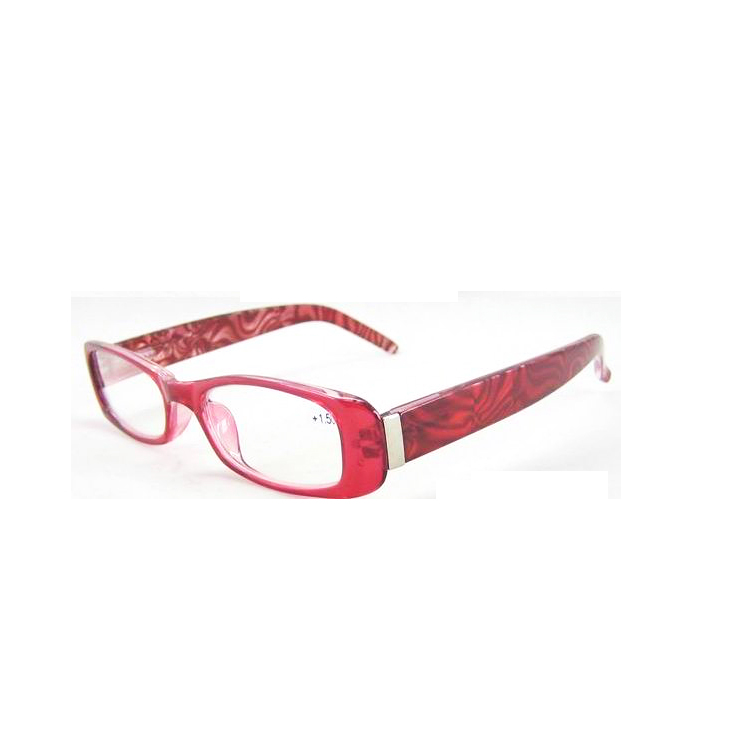 PC with metal part eyeglasses frames cheap pattern women Reading Glasses