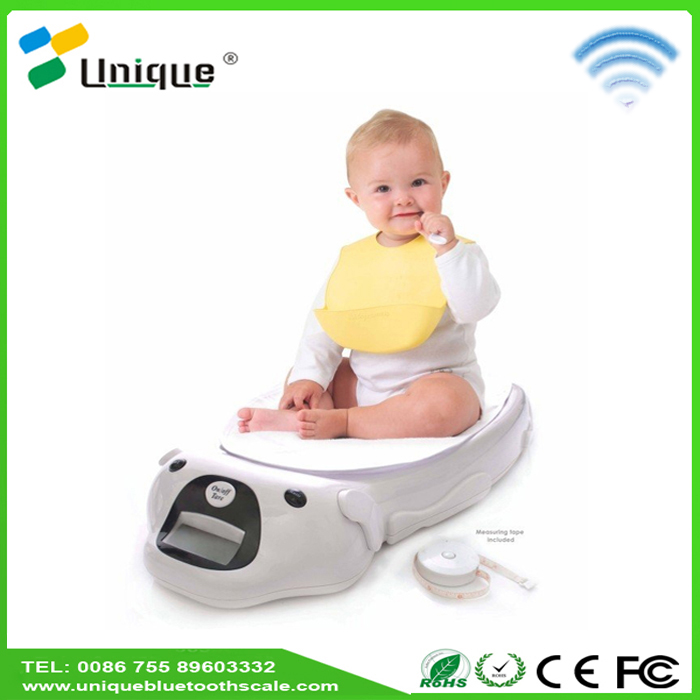 Buy health fitness smart care new cute growth balance body fat percentage plastic bady weighing scales for children