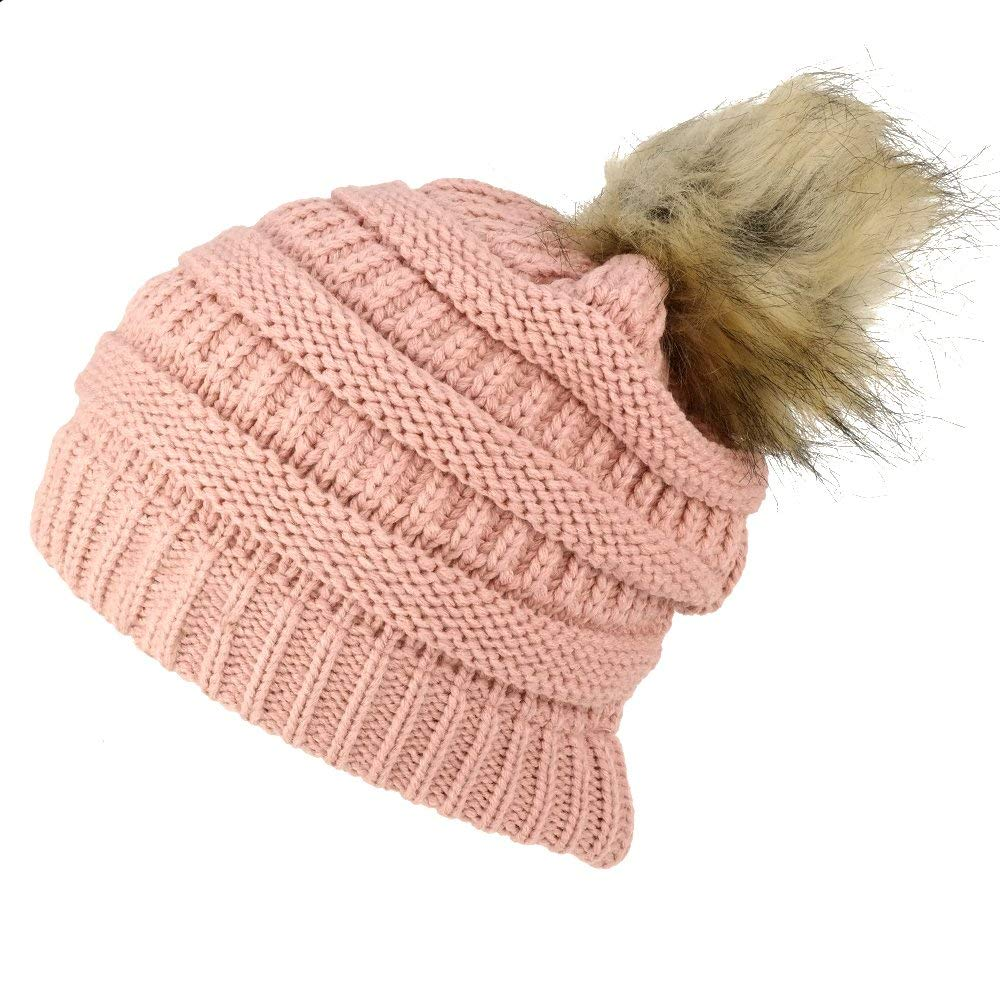 f0ca306e47471 Cheap Faux Fur Pom Pom Beanie, find Faux Fur Pom Pom Beanie deals on ...