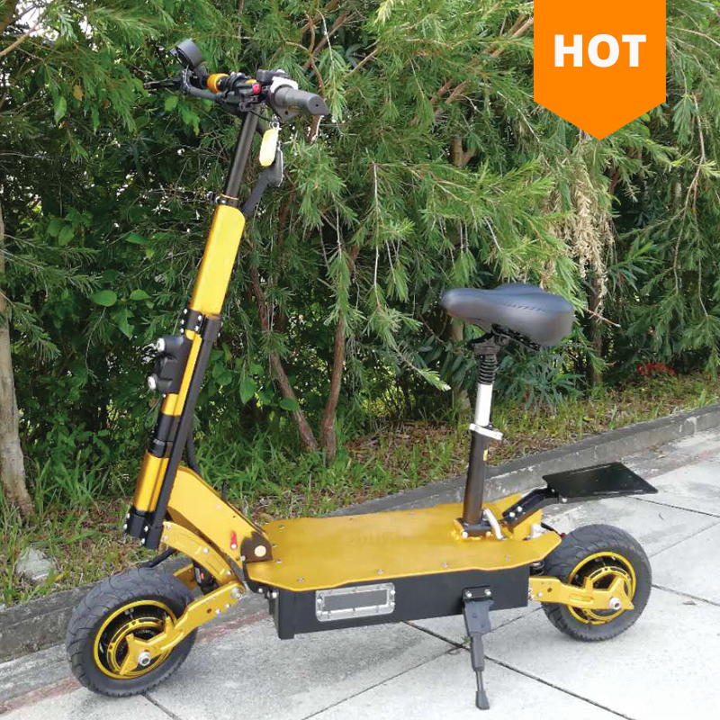 2018 Newest Long Range Foldable 60V 2000W dual motor China Price Electric Scooter for Adult