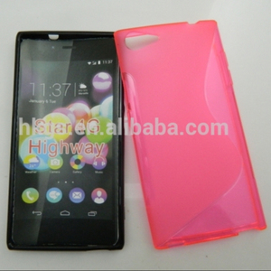 Stock Lot For Sale S Line Soft TPU Case For Wiko Highway Star 4G Cover