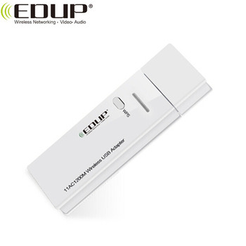 USB 3. 0 11AC 1200Mbps Wireless USB Adapter Mini WiFi Dongle with WPS