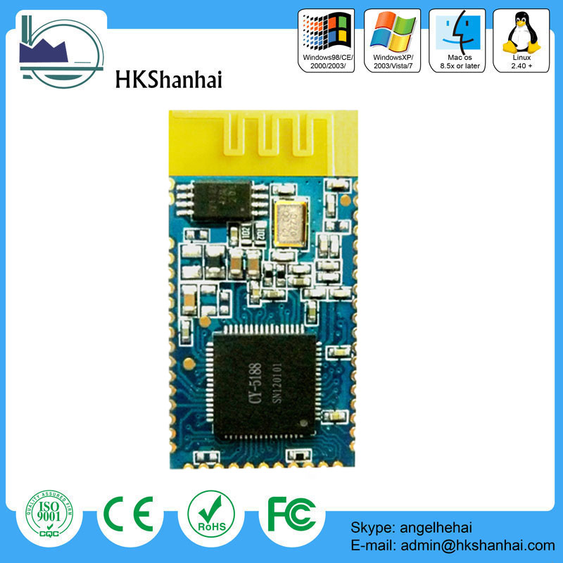 Hot sale HHW-BT10-08 bluetooth V2.0 bluetooth transmitter module