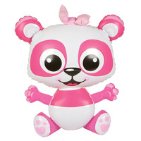 NEW INFLATABLE BLOW UP PINK PANDA JUNGLE ZOO FOREST ANIMAL POOL PARTY TOY! 24