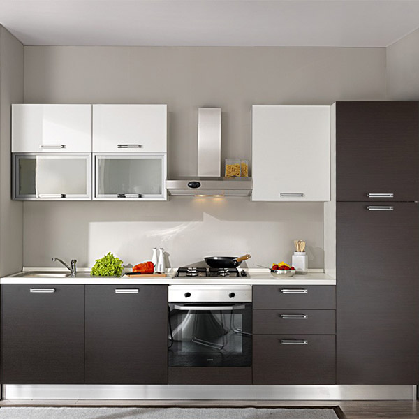 Affordable apartment kitchen <strong>cabinet</strong> design Foshan factory