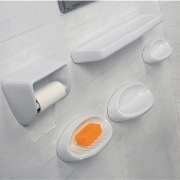 China home ceramic bathroom accessories enamel soap dish wholesale